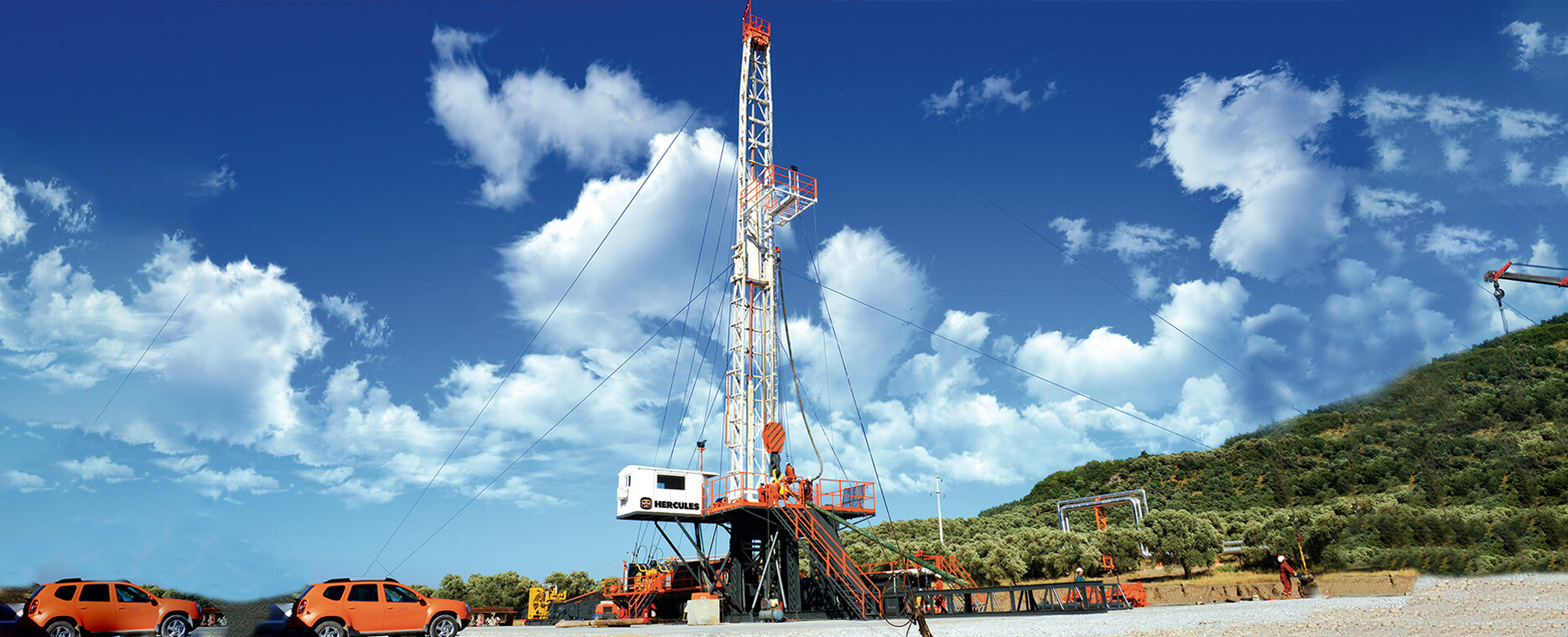 SMALL FOOTPRINT DRILLING RIGS